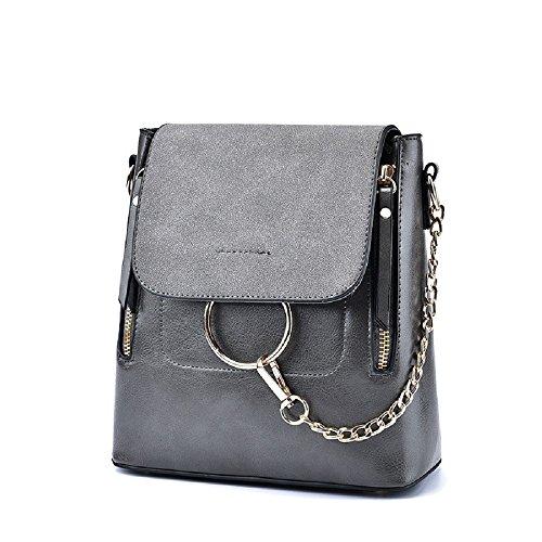 Bague pour femme sac à dos multifonction épaule bandoulière sac à dos sac de voyage épaule sac de messager Capacité inférieure à 20L Lightgray