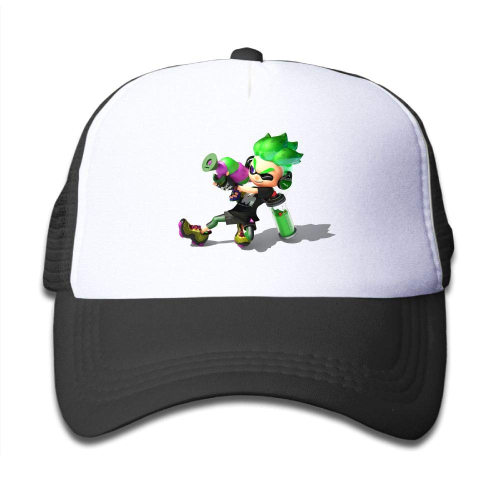 A Splatoon Anime Has Been Announced Youth Boys Mesh Hat Fashion Child Mesh Hat One Size