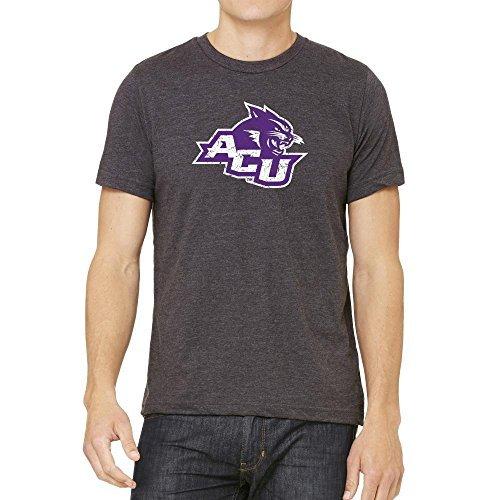 NCAA Abilene Christian University Wildcats Distressed Logo Version 2 Tee, XX-Large