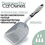 iPrimio XL Cat Litter Sifter with Deep Shovel