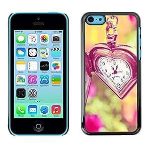 Be Good Phone Accessory // Dura Cáscara cubierta Protectora Caso Carcasa Funda de Protección para Apple Iphone 5C // time love waits summer vignette deep