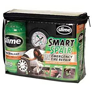 Slime 40013 Smart Spair Emergency Tire Repair Kit
