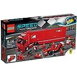 LEGO Speed Champions - 75913 - Jeu De Construction - F14 T Et Son Camion Scuderia Ferrari