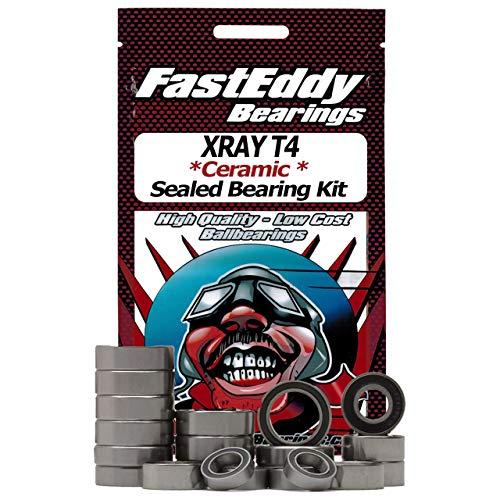 (XRAY T4 Ceramic Rubber Sealed Bearing Kit)