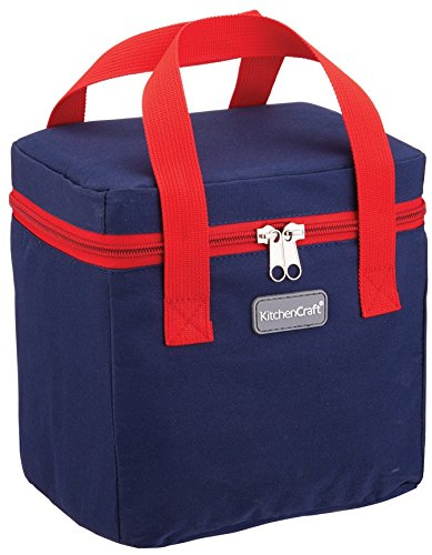 Camping & Outdoor Sport Kitchencraft Lunch Navy And Green 5 Litre Cool Bag