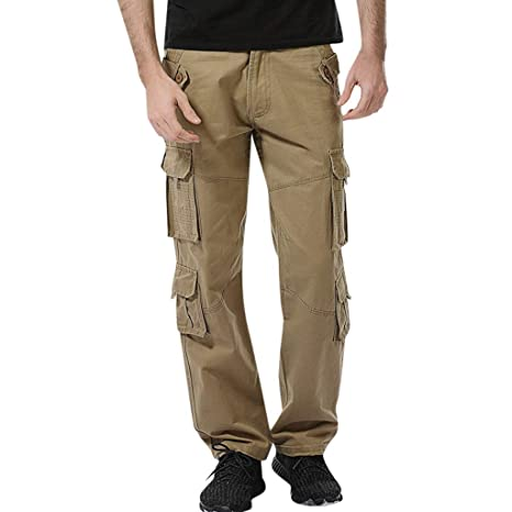ZODOF Pantalones De Carga PantalóN De Trabajo De Combate para ...