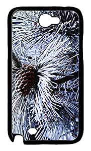 Samsung Note 2 Case Pine Needles 2 PC Custom Samsung Note 2 Case Cover Black