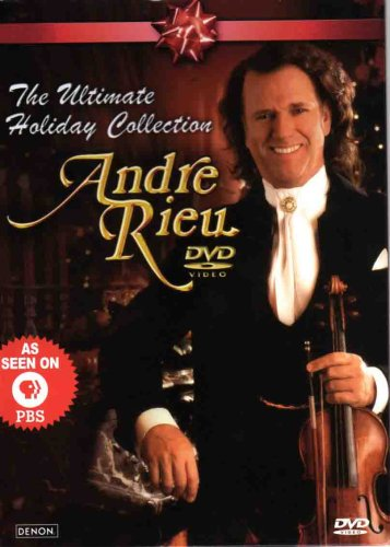 Andre Rieu The Ultimate Holiday Collection (Rieu Andre Christmas Dvd)