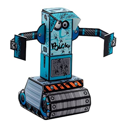 Djeco / Folded Paper Toy Kit, Urban Robots: Toys & Games