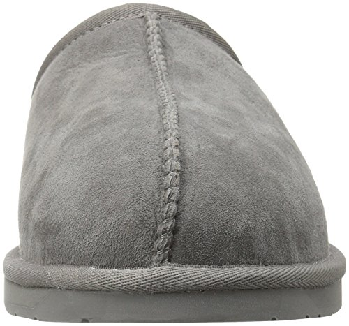 Slide Collective 206 Slipper Men's Suede Union Shearling Charcoal Fg8qUS8w