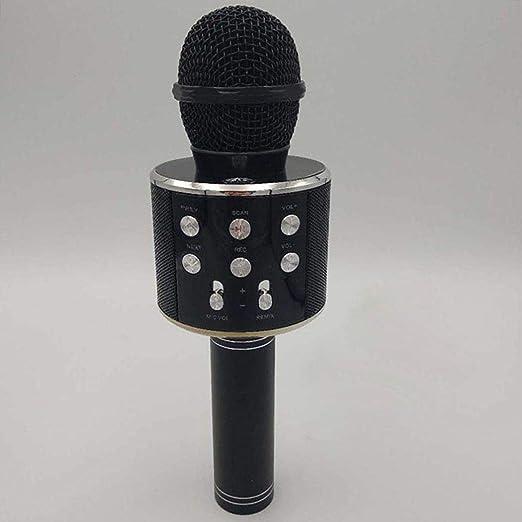 Voiks Micrófono Inalámbrico de Bluetooth Karaoke Player Micrófono ...