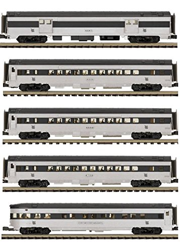MTH TRAINS; MIKES TRAIN HOUSE NH 5 CAR 70' STREAMLINED SET