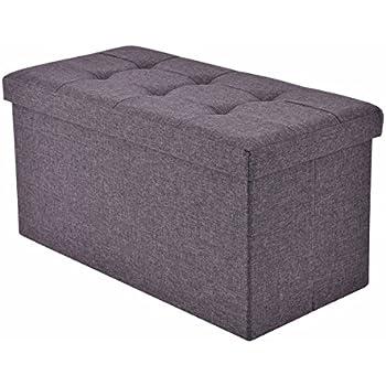 Amazon Com Giantex Folding Rect Ottoman Bench Storage