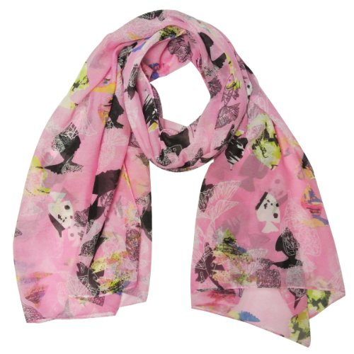 Wrapables Chiffon Under Pattern Scarf