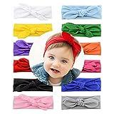YHXX YLEN Baby Girl Cute Hairband Elastic Hair Accessories Headbands (Style1-8Pcs)
