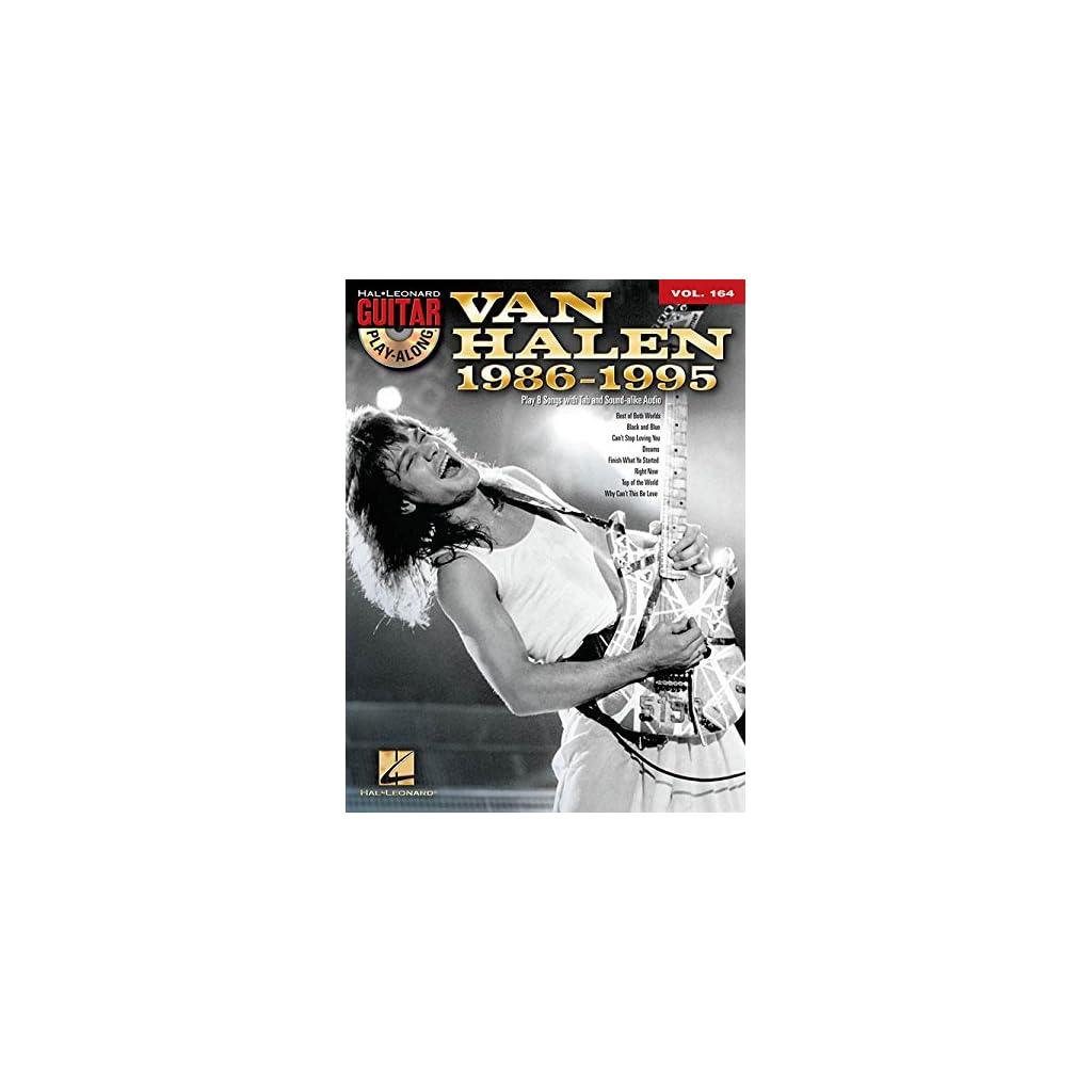 VAN HALEN 1986-1995 GUITAR PLAY ALONG  Tapa blanda 2017
