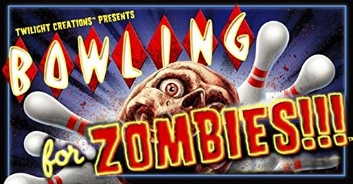 Bowling Dice Game - Bowling For Zombies!!! Board Game