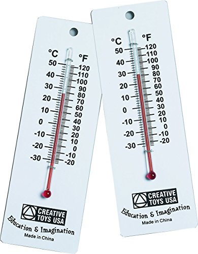 (Learning Advantage 7632 Student Thermometers, Grade: 1 to 6 (Pack of 10))