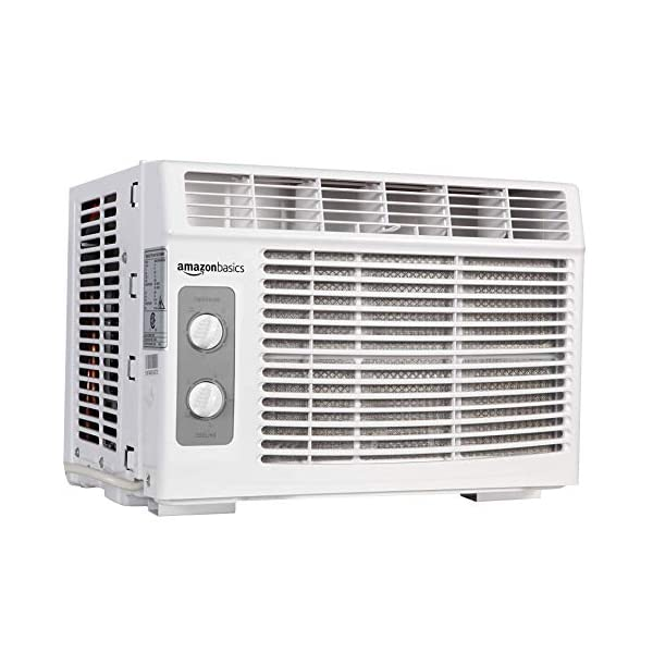 AmazonBasics Window-Mounted Air Conditioner with Mechanical Control