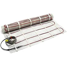 50 SF Electric Radiant Floor Heating Mat 2x25u0027 120V