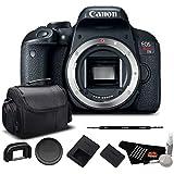 Canon EOS Rebel T7i Digital SLR Camera (Body Only) 1894C001 - Starter Bundle