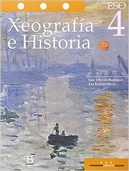 Xeografía e Historia 4º ESO LOMCE (Libro de texto): Amazon.es: Alfeirán Rodríguez, Xosé, Romero Masiá, Ana: Libros