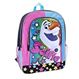 Disney Frozen Neon 16 inch Backpack - Olaf Selfie