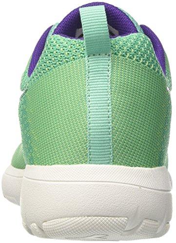 Light Verde Zapatillas para Bianco Run Mujer W Ch X Ceramica Diadora de Running Verde qxfCEWvH