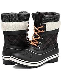 Women's Fashion Waterproof Winter Snow Boots