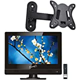 Supersonic SC-1311 13.3' LED HDTV Television w/ HDMI/USB In + Wall Mount