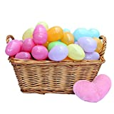 12 Piece Easter Egg Set In Assorted Colors - 2 Inch Easter Eggs - Pull Apart ...