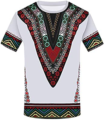 GAGA Mens Vintage Short Sleeve V-Neck Casual Polo T-Shirt Tee