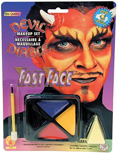 Rubie's Costume Co Fast Face Make Up Devil Costume -