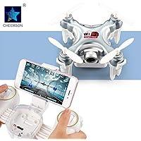 Mini Drone cx10w-tx Com Sistema Fpv Wifi De Visualização Em Tempo Real Pelo Smartphone