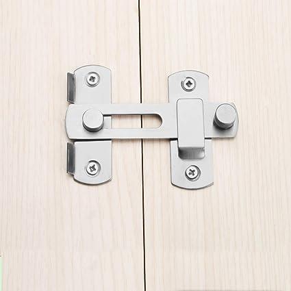 Cerradura de cerrojo Cerradura de cerrojo de acero inoxidable Cerrojo Cerradura de puerta corredera para gabinete