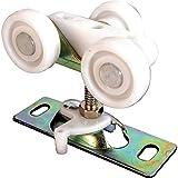 Prime-Line Products N 6848 Pocket Door Roller, Tri-Wheel, 1-Inch Flat Nylon Wheels,(Pack of 2)