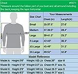 Neleus Men's 2 Pack Dry Fit Running Shirt Long