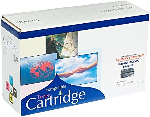C&E CNE16334 Premium Remanufactured Laser Printer Toner Cartridge 08A0478 for Lexmark E320, E322, E322n, Series