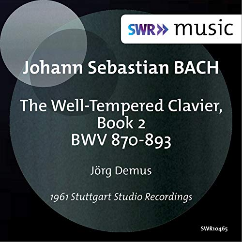 Bach: The Well-Tempered Clavier, Book - 2 Book Archive Music