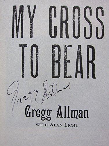 Gregg Allman signed Paperback Book My Cross to Bear PSA/DNA Allman Brothers