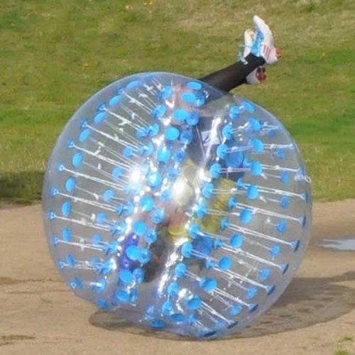 HolleywebTM Blue Bubble Soccer Ball Dia 5' (1.5m) Human Inflatable Bumper Bubble Balls