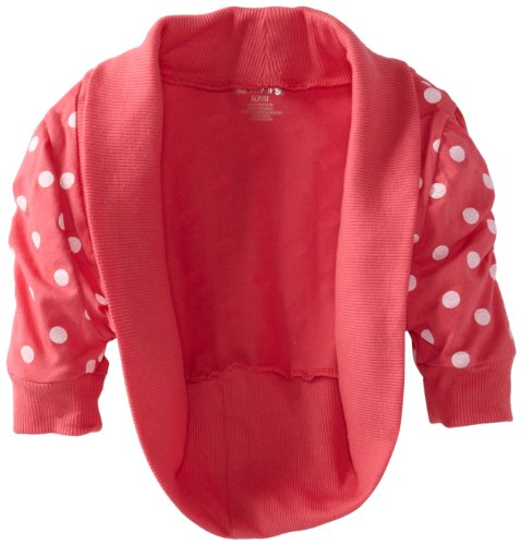One Step Up Girls 7-16 Mini Dot Layering Shrug
