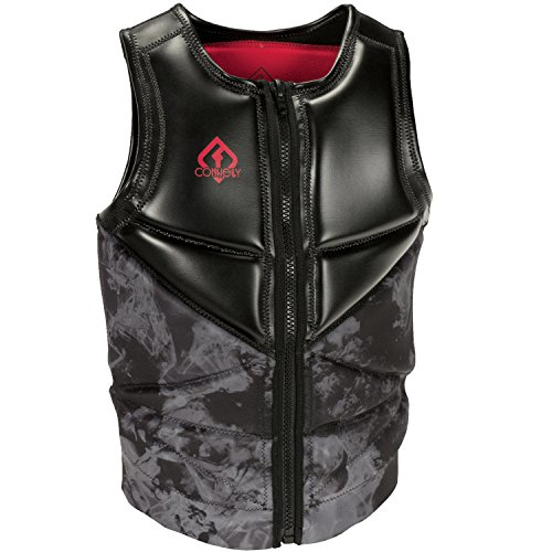 CWB Connelly Reverb Neoprene Competition Life Jacket Black/Red (S)