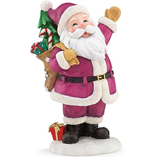 A Merry Christmas To All Santa Figurine by Lenox