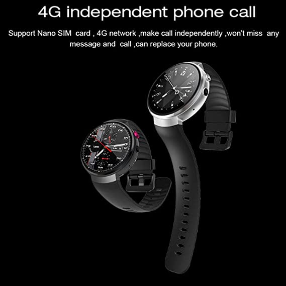 HAOHAOWU Prueba De Agua Smartwatch, 4G Fitness Tracker 7.0 Reloj ...