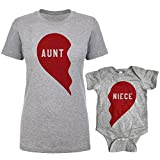 Southern Designs Aunt and Niece Split Heart Matching Review and Comparison