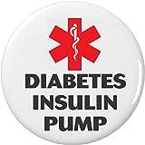 Medical Alert DIABETES INSULIN PUMP 2.25″ Bottle Opener w/ Keyring Diabetic Health Symbol Sign
