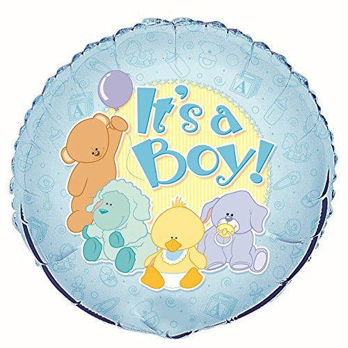 Newborn Boy Balloons Bouquet - 18