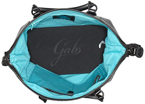 GABS G3-B M INFIES, Borsa a Mano Donna, 1x31x38 cm Multicolore (Grey Colors)