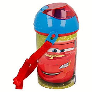 Stor Botella Robot Pop UP 450 ML. Cars Racers Edge